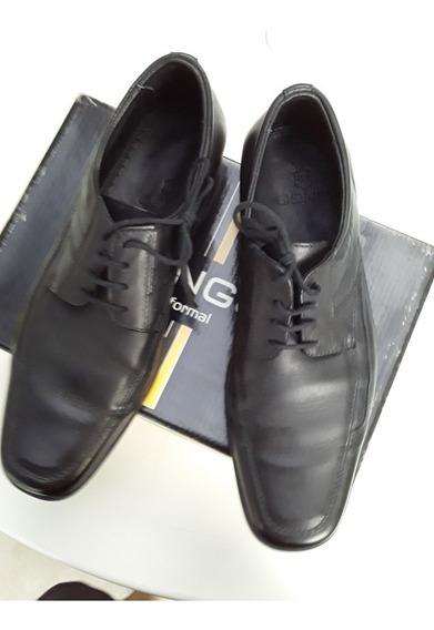 Zapatos Ringo Emperador Cuero Negro Hombre
