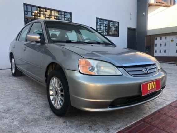 Honda Civic Sedan Lxl 1.7 Dourado 2003