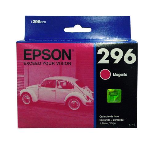 Cartucho Epson 296 Magenta Original Xp231 T296320 Vigente