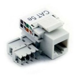 Electric Line Jack Rj45 Incrustar Categoria 5e Blanc Th906ex