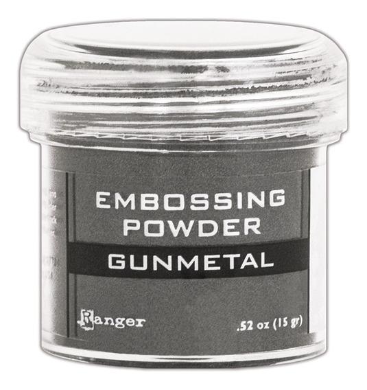 Ranger Embossing Powder Gunmetal Metallic