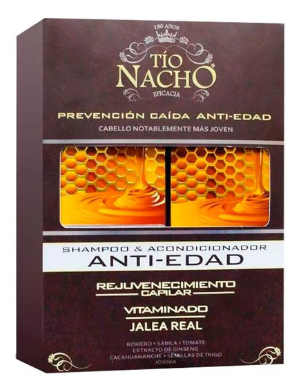 Tío Nacho Monoestuche Antiedad X 415 Ml