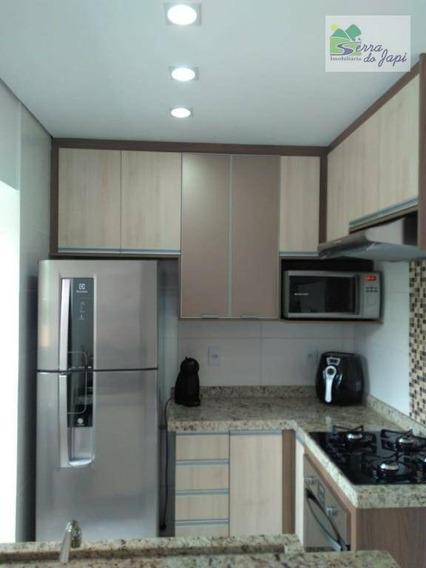 Apartamento Com 2 Dormitórios À Venda, 54 M² Por R$ 260.000 - Medeiros - Jundiaí/sp - Ap3243
