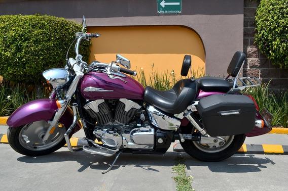 Imponente Honda Vtx 1300cc Equipada Lista Para Viajar