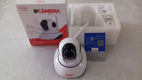 Câmera De Vigilância Wifi Sem Fio - Aplicativo Camhi