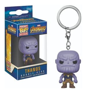 Funko Pop Keychain : Avengers - Thanos