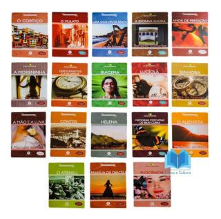 Coleção Clássicos Da Literatura Brasileira - Com 18 Títulos