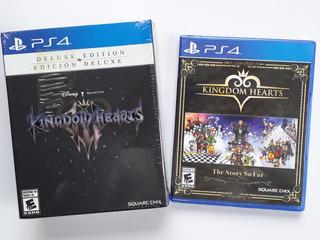 Kingdom Hearts Juegos Ps4 Pack Nuevo Y Sellado