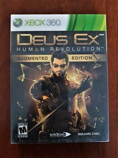 Xbox 360 Deux Ex Human Revolution Augmented Edition