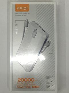 Power Bank Kaidi 20000mah Kd582 Para Samsung Galaxy Fold
