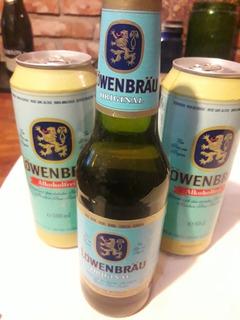 Antiguas Cervezas Lowenbrau Alemania ( Sin Abrir)