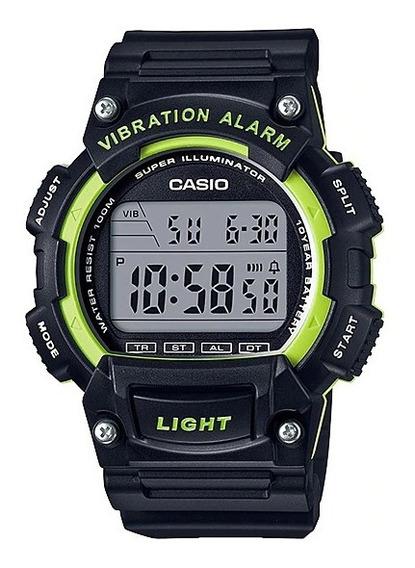 Reloj Casio 10 Year Battery W-736h-3avcf