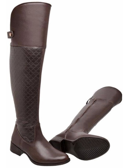 Bota Montaria Over The Knee Feminina Ref.: 959 P