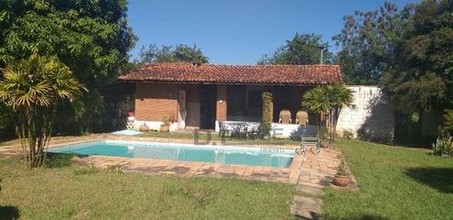 Imagem 1 de 10 de Chácara Com 3 Dormitórios À Venda, 1813 M² Por R$ 545.000,00 - Loteamento Chácaras Vale Das Garças - Campinas/sp - Ch0451