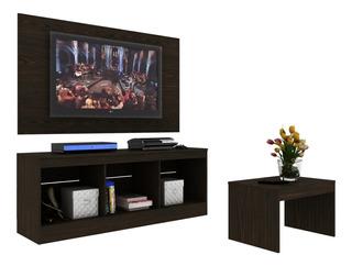 Centro Entretenimiento Mueble Tv Moderno Con Mesa Y Marco