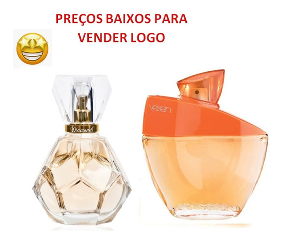 Jafra Perfumes Diamonds + Vesen