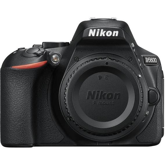 Nikon D5600 Body 24.2 Mpx Lcd 3.2 Full Hd Wifi Bluetooth