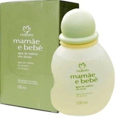 Colônia Mamãe E Bebê Natura 100ml