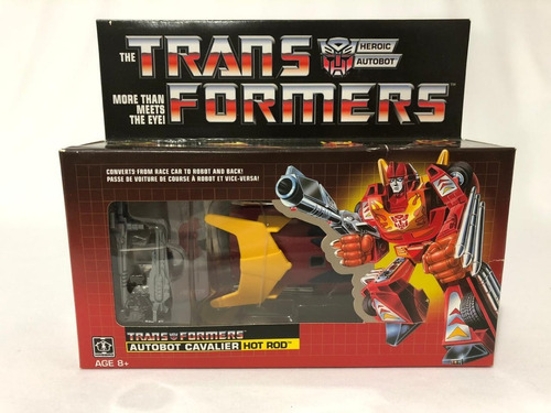 Transformers Autobot Hot Rod Hasbro Reedição Exclusivo