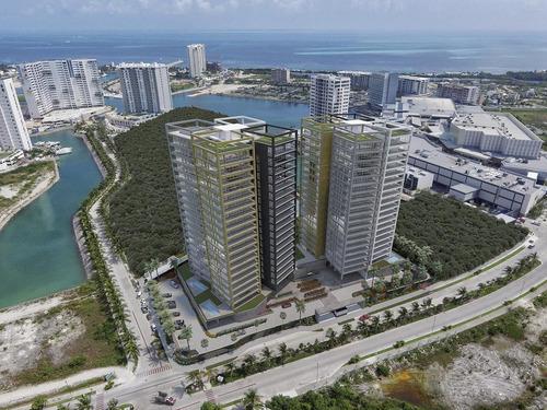 Imagen 1 de 13 de Departamento En Venta En Cancún - X Towers