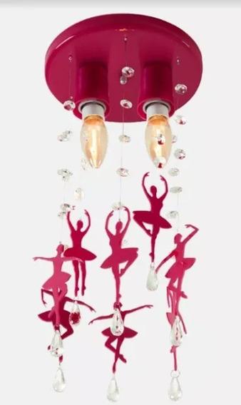Pendente Bailarina Infantil Para Quarto De Menina