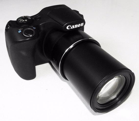 Câmera Digital Canon Sx520hs, Full Hd, 16 Mpixels, Zoom 42 X