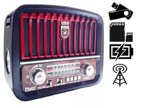 Radio Classico Am Fm Usb Pilha Energia Bateria Novo Oferta!!