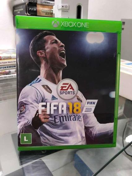 Fifa 18 Xbox One Mídia Física Seminovo