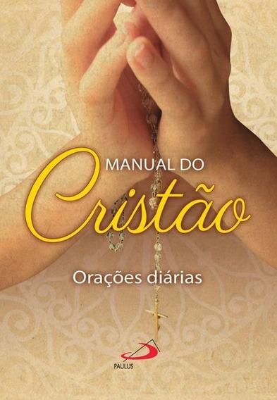 Kit 5 Unidades Livro - Manual Do Cristão - Capa Colorida