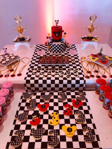 Candy Bar Mickey Sobre Ruedas