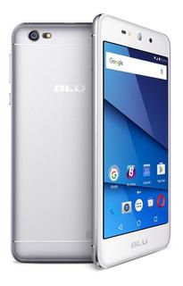 Celular Blu Grand Xl 5.5 Curva Qc1.3ghz 1/8gb 8mp 7.0 Plata