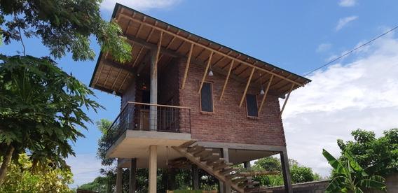 Villa Campestre En La Playa, Manglaralto