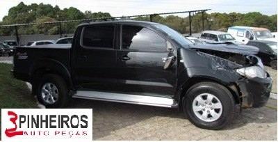 Sucata Peças Toyota Hilux - Câmbio Air Bag Turbina Motor