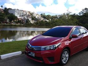 Toyota Corolla 1.8 16v Gli Flex Automático 4p Vermelho Metal