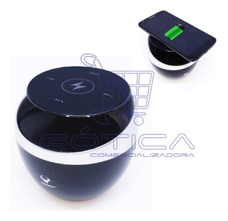 Base De Carga Inalambrica Parlante Bluetooth Daniu Ds-674