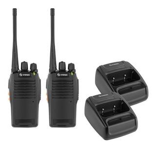 Kit De 2 Radios Intercomunicadores Compatibles Con Motorola