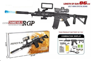 Pistola Rifle Hidrogel Automatica Gotcha Juguete+laser+regal
