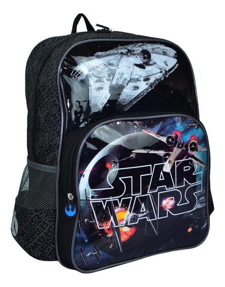 Mochila Escolar Star Wars Grande Infantil