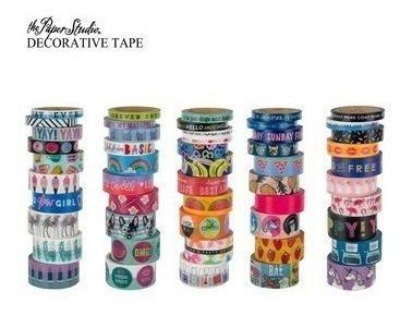 50 Washi Tapes - Pacote