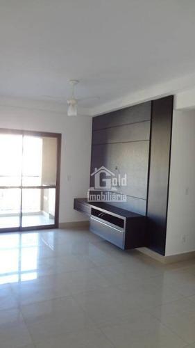 Apartamento Com 2 Dormitórios Para Alugar, 71 M² Por R$ 2.000/mês - Jardim Irajá - Ribeirão Preto/sp - Ap3126