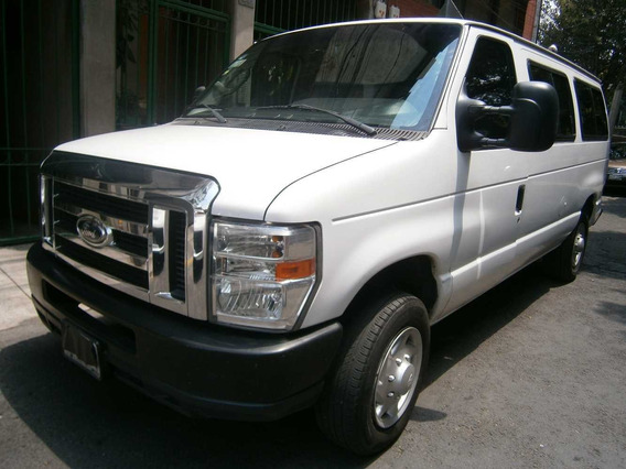 Econoline Wagon Xl 2013 Blanca 8pas Aut 8cil 3pts