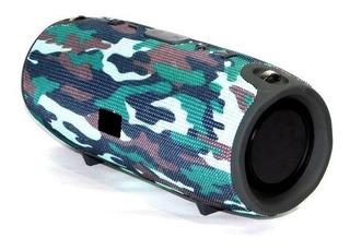 Parlante Bluetooth Estéreo Aux Audio Usb Sonido Potente Sd