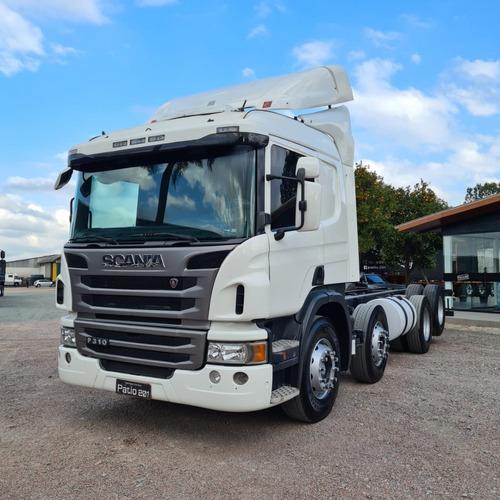 Caminhão Scania P310 8x2 Bitruck No Chassi 2014 Opticruise