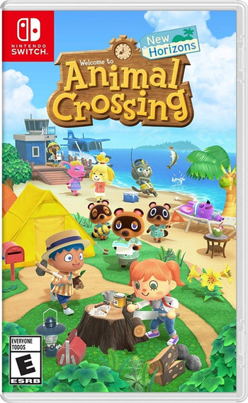 Animal Crossing New Horizons Switch Mídia Física