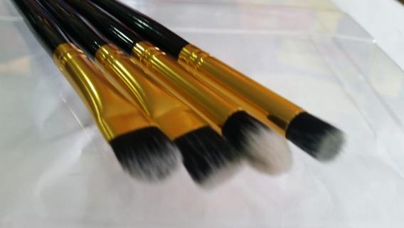 Kit Jogo 04 Pinceis Profissional Maquiagem Importado Top .