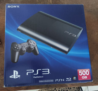 Playstation 3 Super Slim Con 3 Juegos 3100