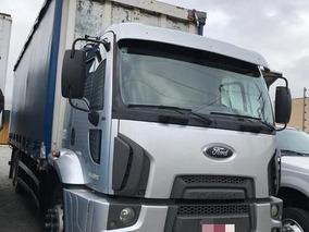 Ford Cargo 2428 6x2 C/ Baú Sider 2012