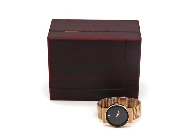 Relógio Movado Stainless Steel Cobre