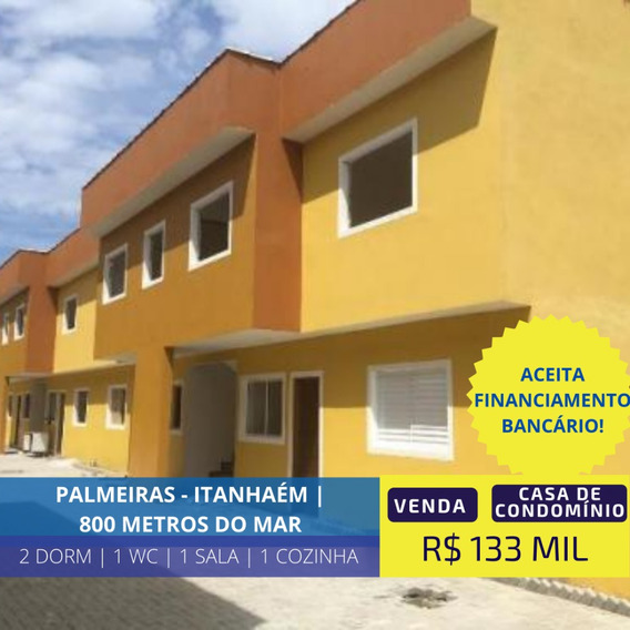 Casa Condomínio Fechado 800 Mts Praia - Itanhaém Litoral Sul