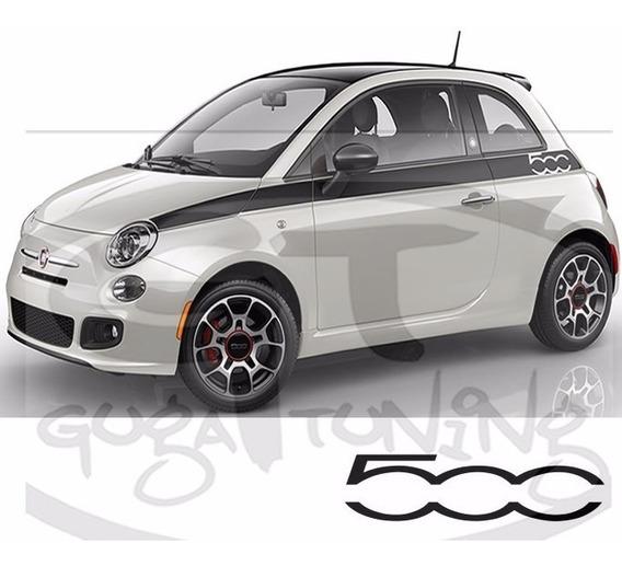 Faixas Fiat 500 Prima Esse Não É Impresso Não Desbota!